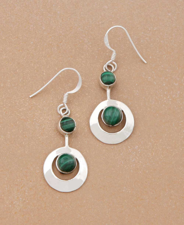 Gemstone Kinetic Earrings