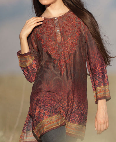 Indian Silk Tunic