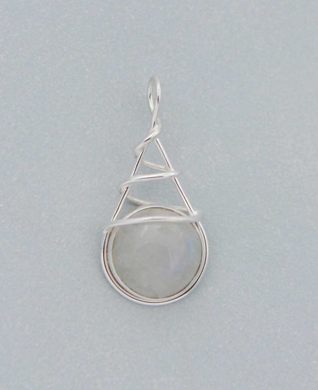 Sterling Silver Wrap Pendant