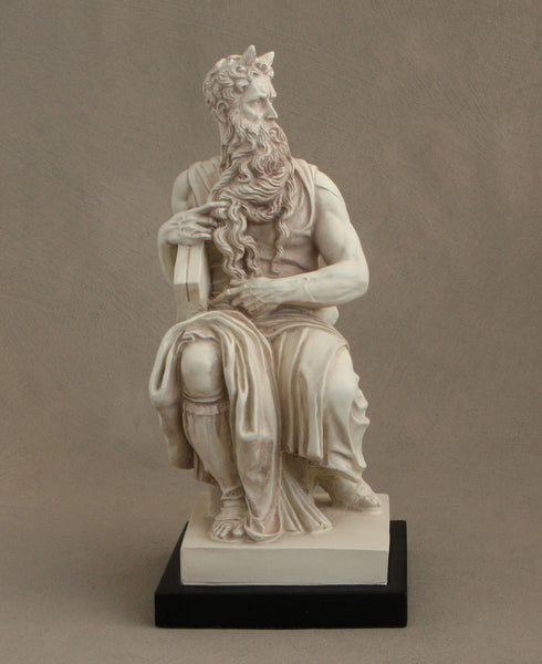 Moses by Michelangelo Statue, 11 Inches