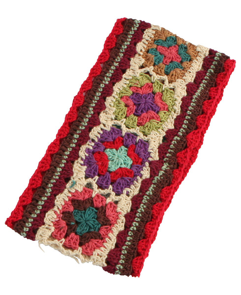 Multicolored Crochet Headband, Nepal