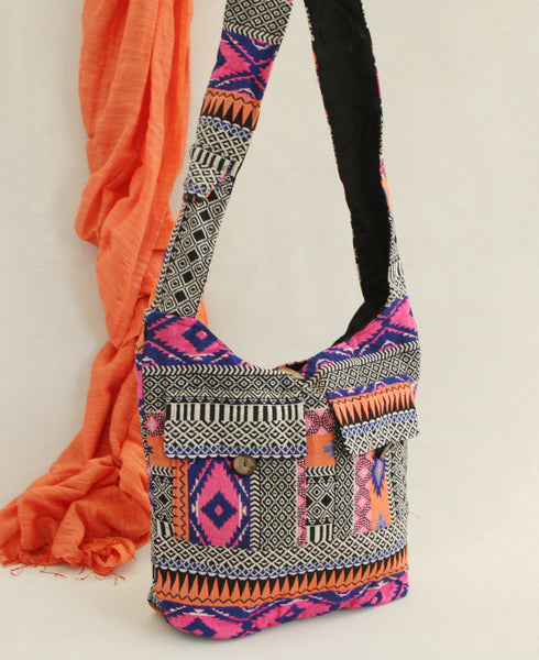 Neon Tribal Purse