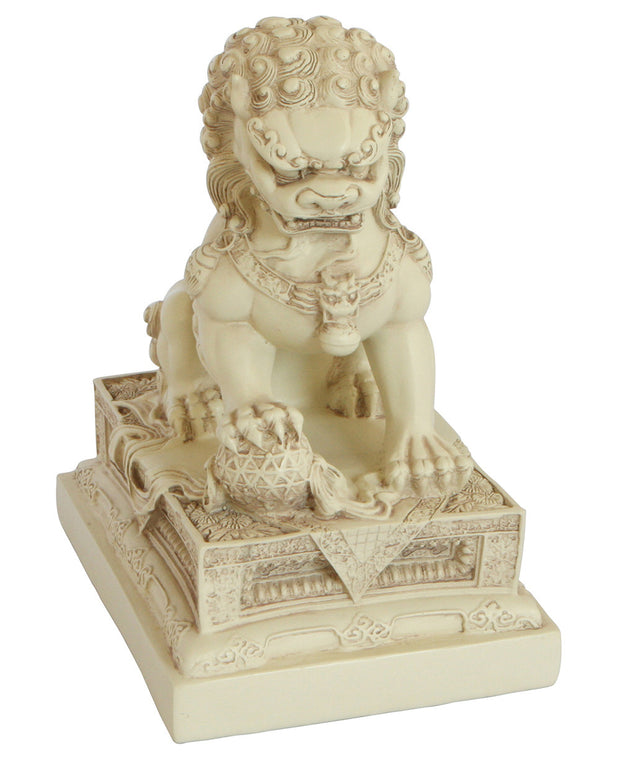 Garden Foo Dogs, Chinese Guardian Lion Statues