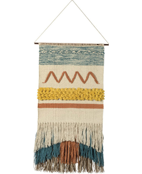Striped Boho Woven Wall Decor