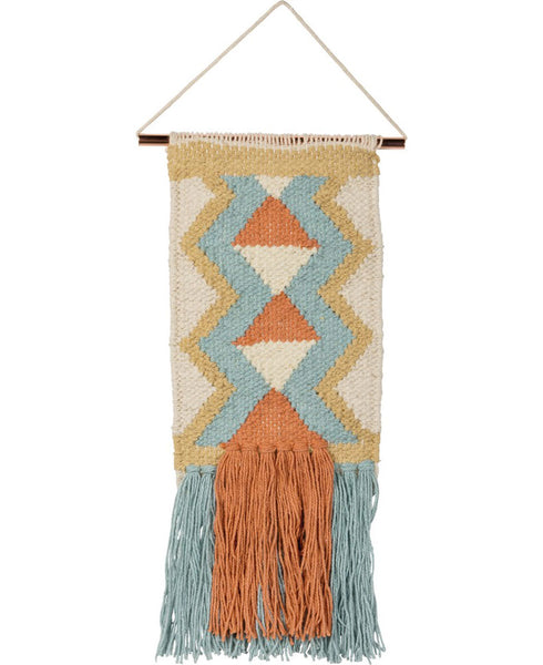 Boho Diamond Wall Hanging