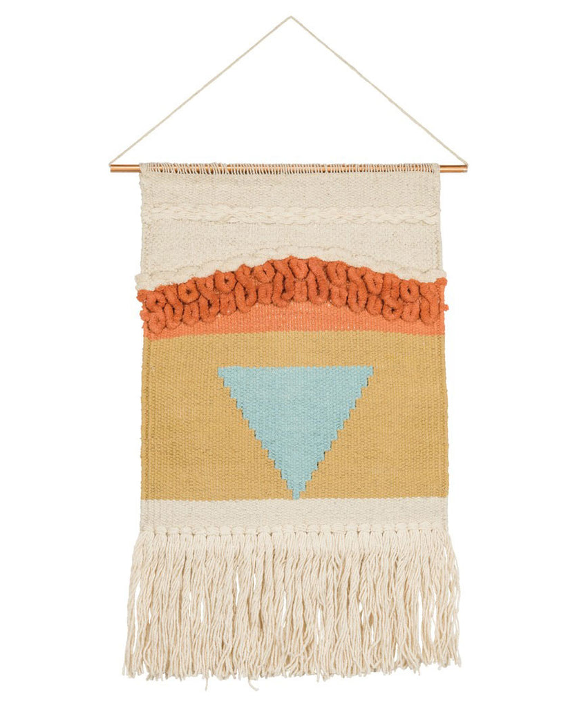 Boho Triangle Wall Hanging