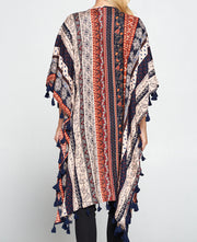 Block Print Inspired Duster Wrap