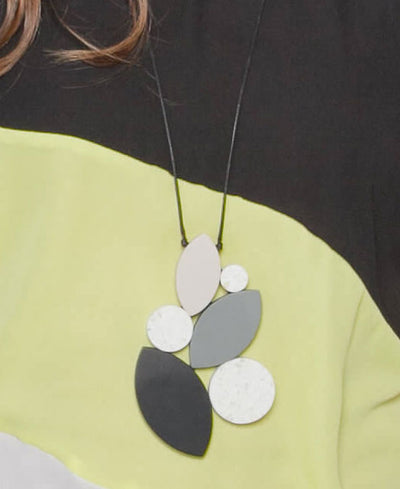Petal Pendant Necklace