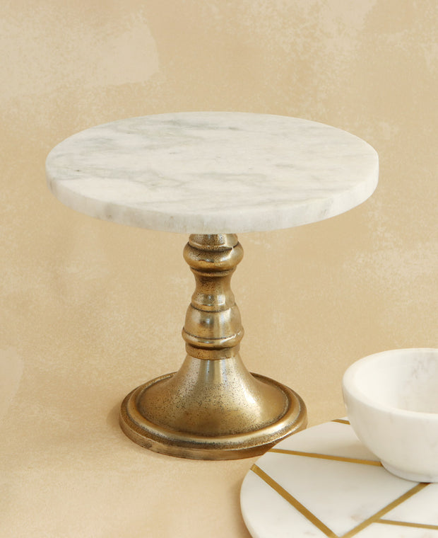 Marble Table and Stand