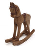 Old Fashioned Wooden Rocking Horse