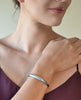 Simple Horseshoe Cuff in Aluminum, Eco-Friendly