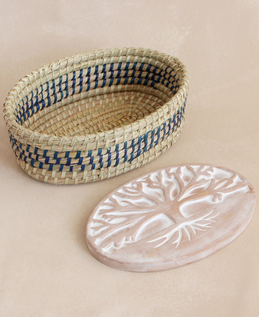 Fair Trade Tree of Life Bread Warmer and Trivet