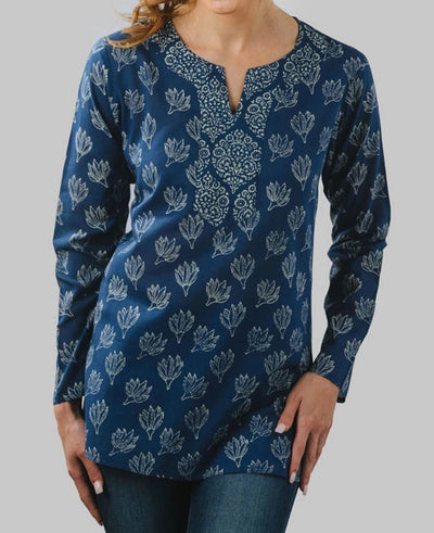 Fair Trade Indigo Padma Tunic