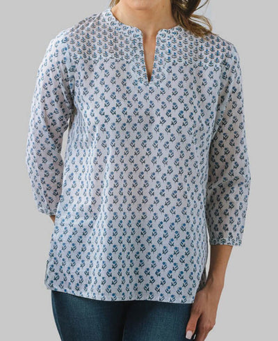 Fair Trade Blossom blouse