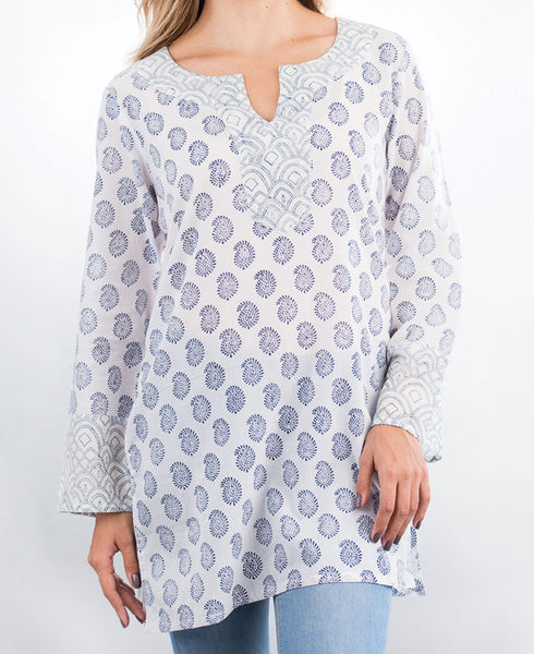 Mixed Prints Tunic