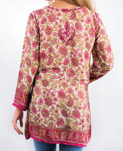 Embroidered Silk Tunic