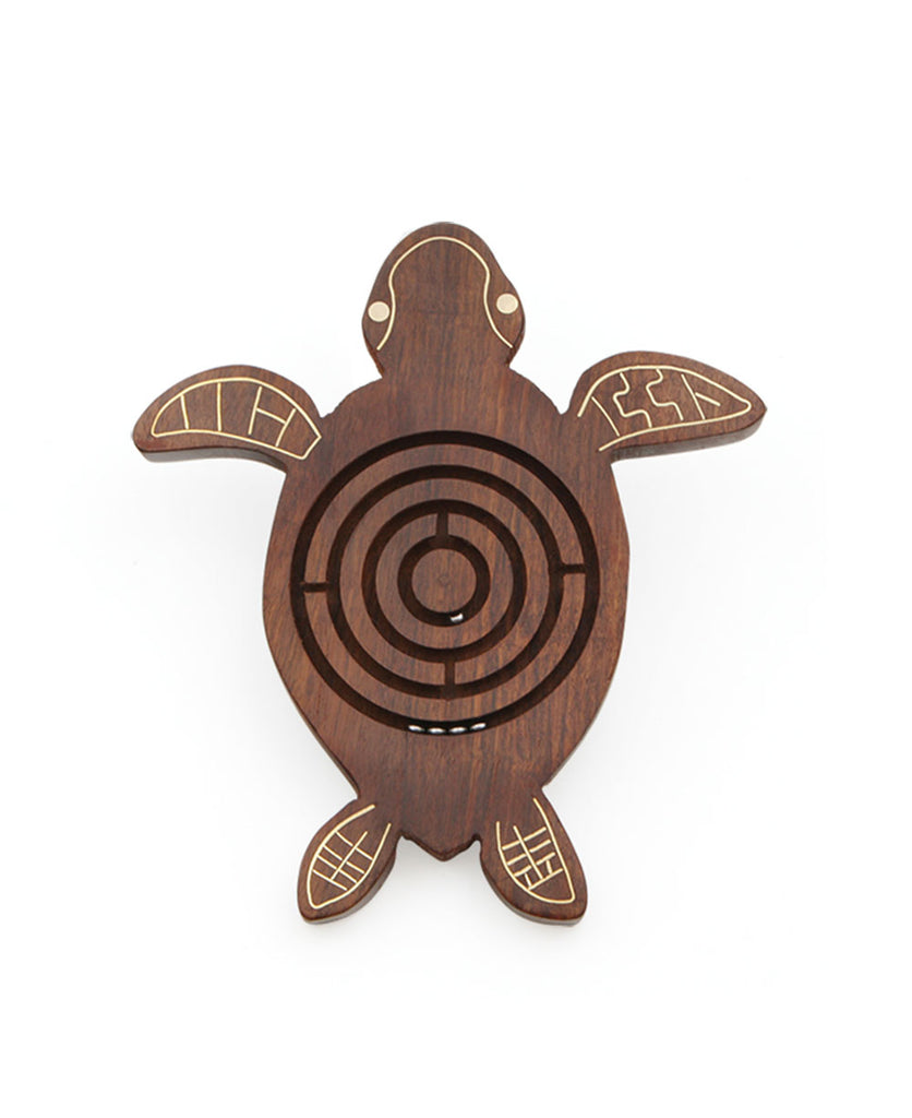 Sea Turtle Wooden Maze