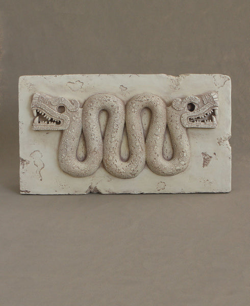 Wall Hanging of the Aztec Double Headed Serpent