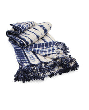Shibori Throw Blanket