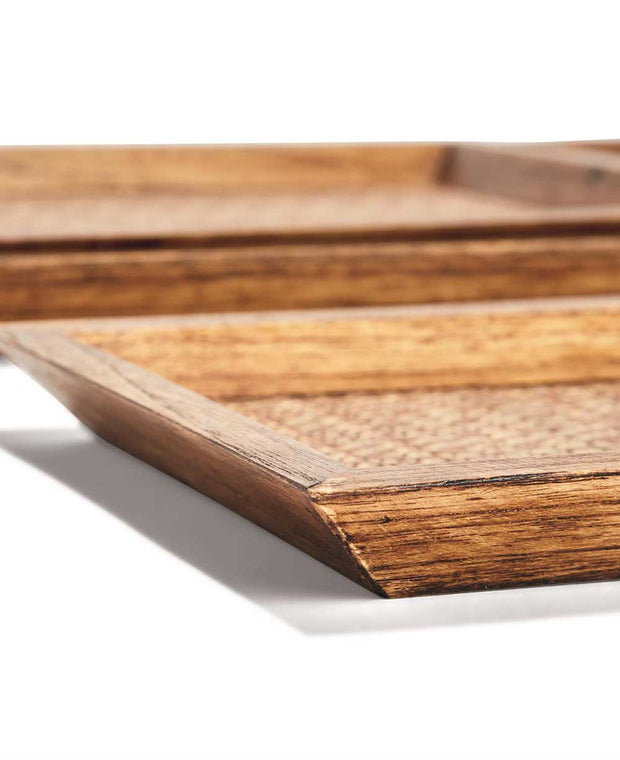 Teak Wood Display/Serving Trays