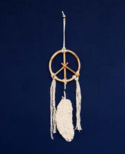 Dreamcatcher peace sign