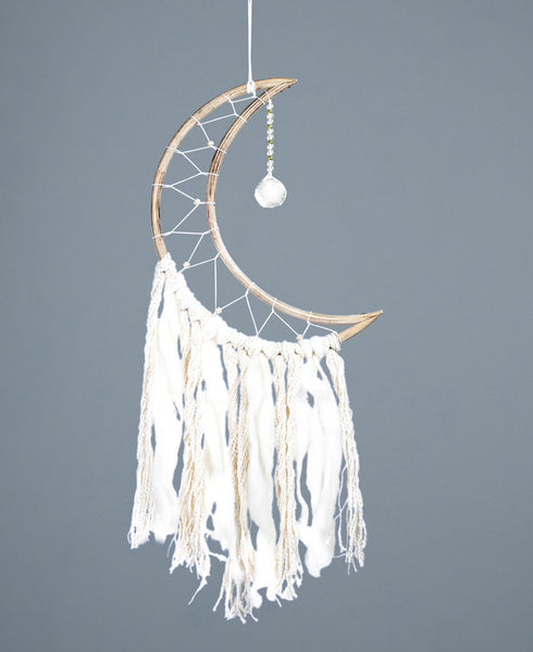 Crescent Moon Dream Catchers