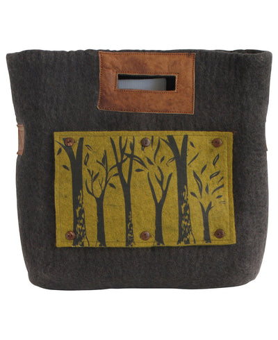 Fair Trade Tree of Life Handle Bag