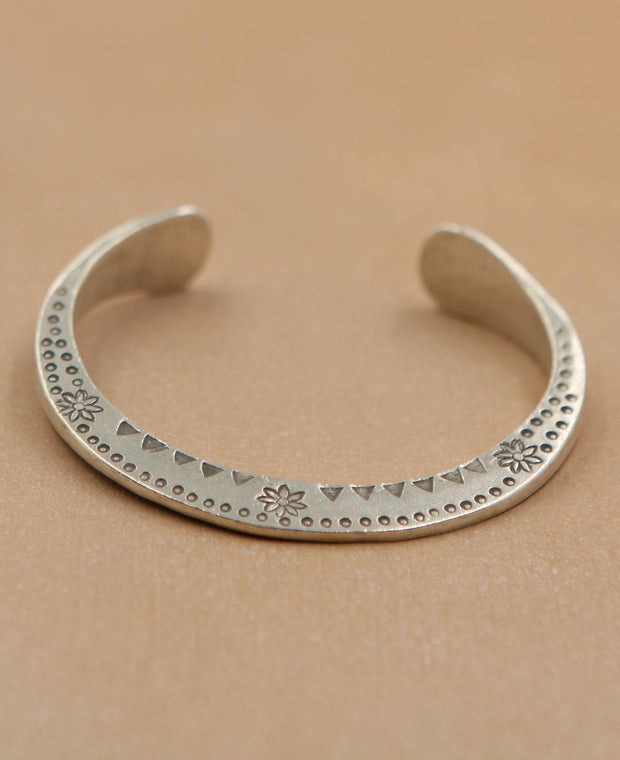 Tribal Crescent Bracelet