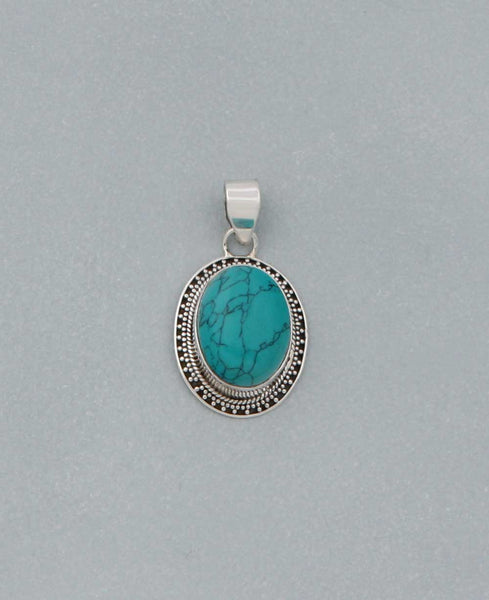 Gemstone Talisman Pendant, India