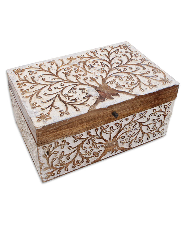 Embossed Floral Box