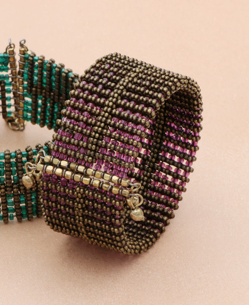Night Festival Beaded Bracelet