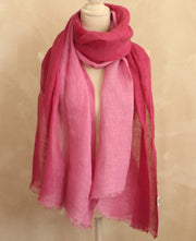 Ombre Pink Scarf