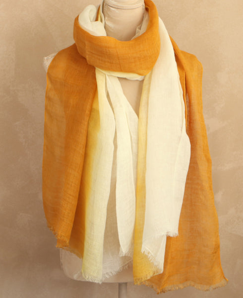 Yellow Ombre Scarf