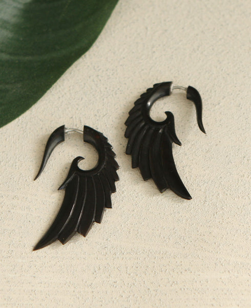 Tribal Wing Earrings