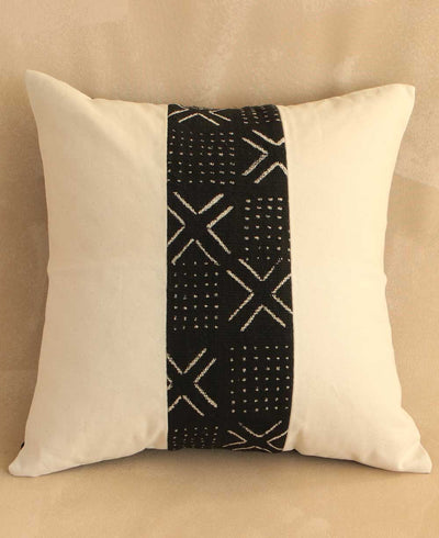 Contemporary African Mud Cloth Pillow Covers