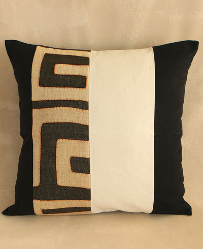 Striped Kuba Cloth Pillows, South Africa