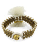 Tassel Trio Brass Indian Bracelet