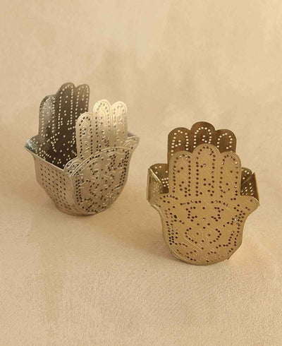 Hamsa Tealight holders
