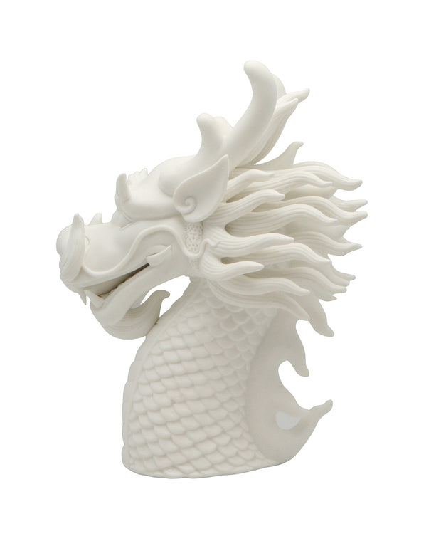 Dragon Porcelain Bust