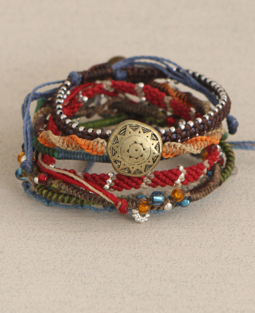 Story of the Earth Wakami Bracelet Set, Fair Trade