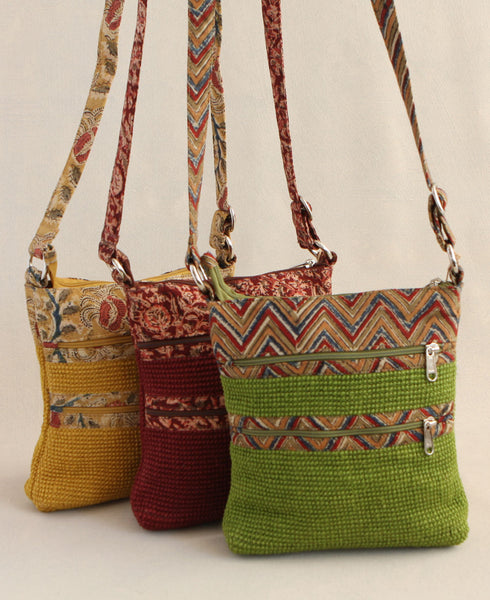 Eco-Friendly Jute Cross Body Bag, India