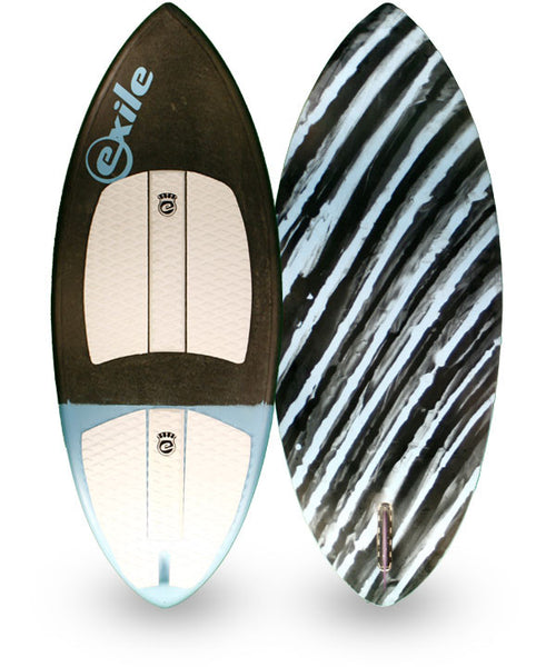 Small Double Carbon Fiber Epoxy Wakesurf Board