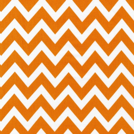 Remix Chevrons in Tangerine