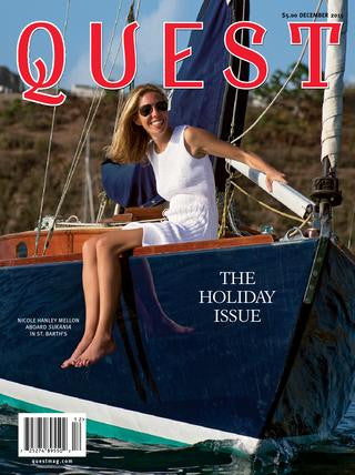 BASK featured in Quest Magazine's Holiday Gift Guide