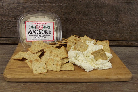 Asiago & Garlic Cheese Spread