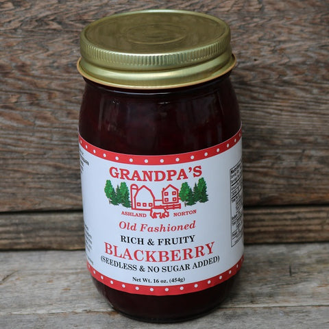 Seedless & No Sugar Added Blackberry Jam