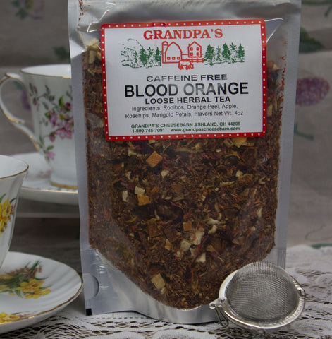 Blood Orange Herbal Tea