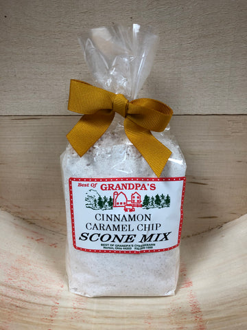 Cinnamon Caramel Chip Scone Mix