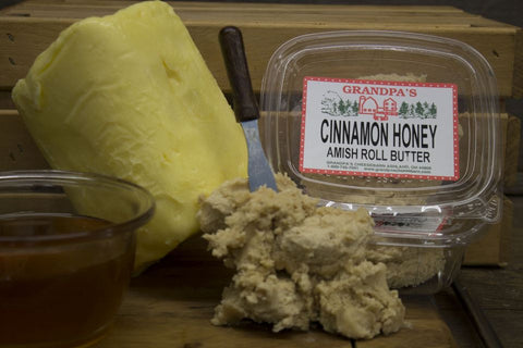 Homemade Cinnamon Honey Amish Roll Butter