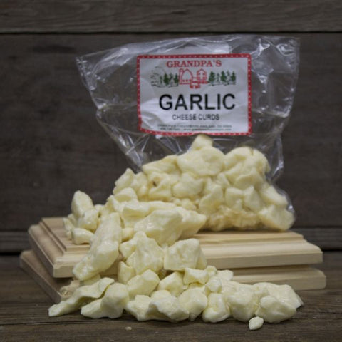 Garlic Cheddar Cheese Curds